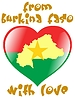 Vector clipart: from Burkina Faso with love