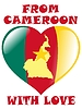 Vector clipart: from Cameroon with love