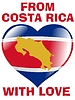 Vector clipart: from Costa Rica with love