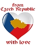 Vector clipart: from Czech Republic with love
