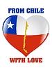 Векторный клипарт: Чили с любовью
