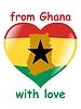 Векторный клипарт: из Ганы с любовью