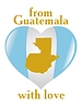 Vector clipart: from Guatemala with love