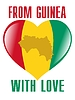 Vector clipart: from Guinea with love