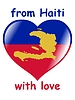 Vector clipart: from Haiti with love