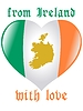 Vector clipart: from Ireland with love