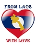 Vector clipart: from Laos with love