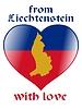 Vector clipart: from Liechtenstein with love