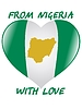 Vector clipart: from Nigeria with love