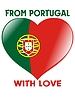 Vector clipart: from Portugal with love