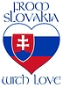 Vector clipart: from Slovakia with love