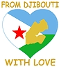 Vector clipart: from Djibouti with love