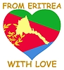 Vector clipart: from Eritrea with love