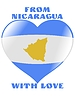 Vector clipart: from Nicaragua with love