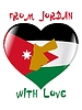 Vector clipart: from Jordan with love