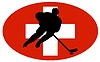 Vector clipart: Hockey colours of Switzerland