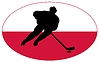Vector clipart: Hockey colours of Poland