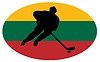 Vector clipart: Hockey colours of Lithuania