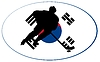 Векторный клипарт: Хоккей цветов из Южной Кореи