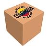 Векторный клипарт: Сделано в Колумбии