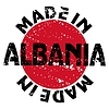 Vector clipart: label Made in Albania