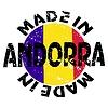 Векторный клипарт: этикетки Сделано в Андорре