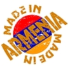 Vector clipart: label Made in Armenia