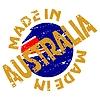 Векторный клипарт: этикетки Сделано в Австралии