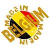 Vector clipart: label Made in Belgium