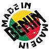 Vector clipart: label Made in Benin