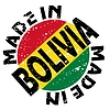 Vector clipart: label Made in Bolivia
