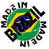 Vector clipart: label Made in Brazil