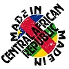 Vector clipart: label Made in Central African Republic