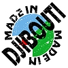 Vector clipart: label Made in Djibouti