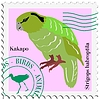 Vector clipart: stamp with parrot