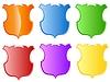 Vector clipart: set of heraldic shields