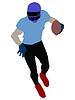 Vector clipart: Football