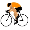 Vector clipart: Cycling