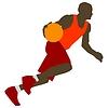 Vector clipart: Basketball