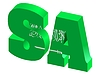 Vector clipart: Internet top-level domain of Saudi Arabia