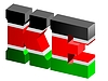 Vector clipart: Internet top-level domain of Kenya