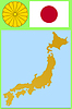 Vector clipart: national attributes of Japan