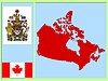 Vector clipart: national attributes of Canada