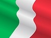 Vector clipart: flag of Italy