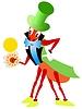 Vector clipart: fairy cricket