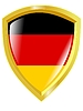 Vector clipart: Colours of Germany