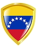 Vector clipart: Colours of Venezuela