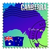 Vector clipart: Canberra - capital of Australia