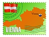 Vector clipart: Vienna - capital of Austria