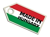 Vector clipart: label Made in Hungary